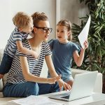 Working from Home is a Mixed Bag for Parents